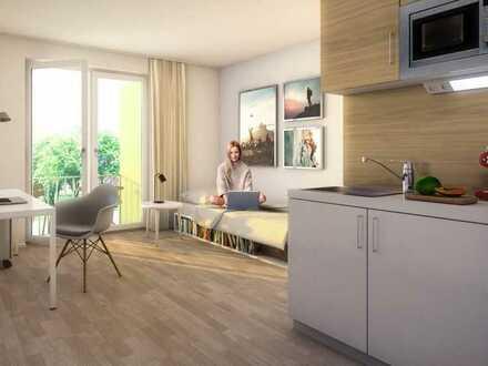 Erstbezug: gehobenes Studentenappartement [myroom] - Einbauküche, Terrasse/Garten in bester Lage