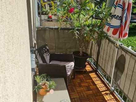 Vermietete Wohnung in Hilbersdorf mit Balkon