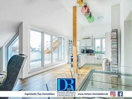 Stylische und helle 3-Zimmer-Wohnung im Süden von Ingolstadt inkl. EBK, Loggia und TG-Stellplatz
