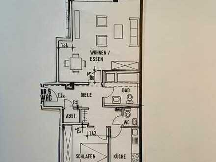 Gepflegte City-Wohnung mit zwei Zimmern sowie Balkon und EBK in Meckenheim