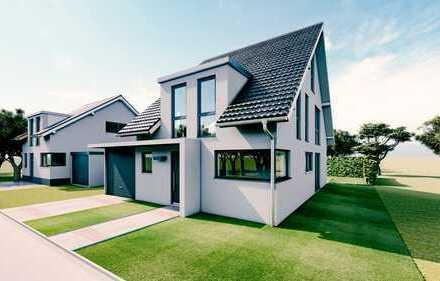 Modern individuell planbares Einfamilienhaus + Garage mit 130m² (schlüsselfertig)