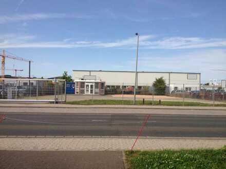 €1,93/qm, top zentrales Gewerbegrundstück, mit Doppel-Bürocontainer, WC, Industriegeb. Bad Kreuznach