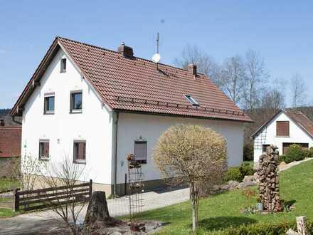 Haus im Grünen mit Ausblick - auch für Selbstversorger -