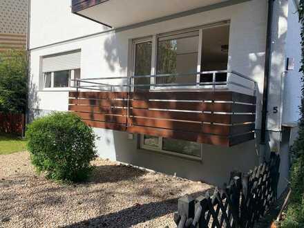 Ruhige, freundliche 1-Zimmer-Wohnung mit schönem Balkon zur Miete in Wiesbaden