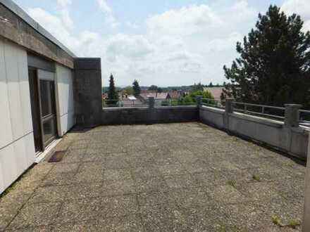 Kapitalanlage in Welzheim! Penthouse-Wohnung mit einzigartiger Dachterrasse!!