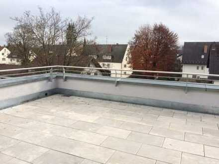 Neuwertige 2-Zimmer-Penthouse-Wohnung mit Dachterrasse und EBK in Bad Wörishofen