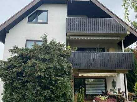 Schön gelegene 4-Zimmer-Wohnung mit Gartenanteil in Rödermark
