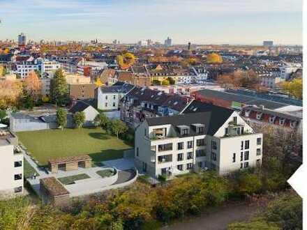 Moderne Neubauwohnung mit ca. 37m² großem Wohn-/Essbereich