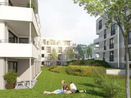 Sonnig 4-Zimmer Neubauwohnung (Mehrfamilienhaus) mit Garten, Kindergarten/Schulen in der Nähe