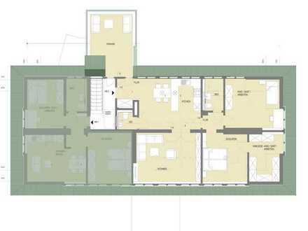Erstbezug nach Sanierung mit Balkon: freundliche 4-Zimmer-Dachgeschosswohnung in Hamm