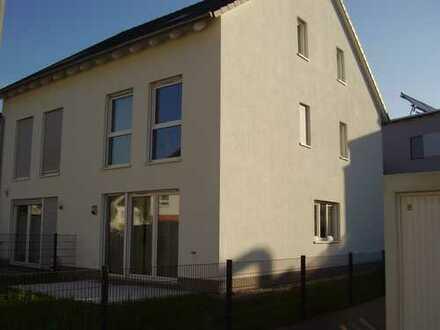 Neues Niedrigenergiehaus im Frankfurter Westen