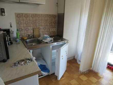 Bad Herrenalb, schönes 1 Zimmer Appartment, ca.40qm, Bj 1980,Balkon, EBK,