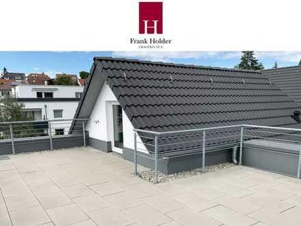 Ideale Singlewohnung mit beeindruckender Dachterrasse