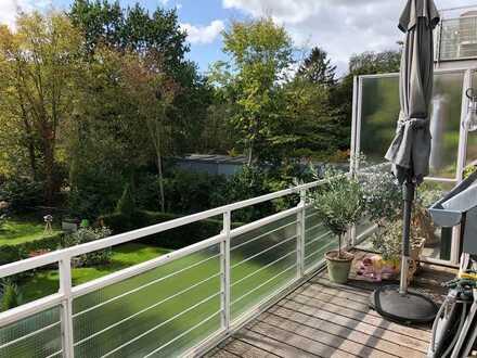 Maisonette-Wohnung mit traumhaften Grünblick und 2 Terrassen!