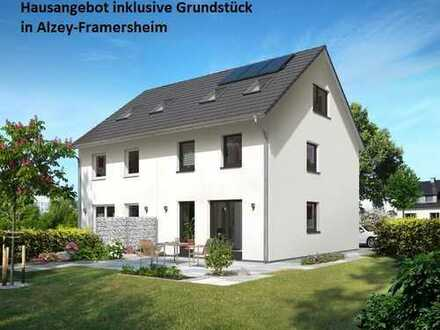 Alzey-Framersheim Town & Country Aktionshaus inklusive Grundstück