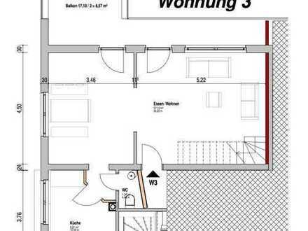 Moderne 3,5 Zimmer Maisonetten-Wohnung mit Traumblick für Singles und Paare