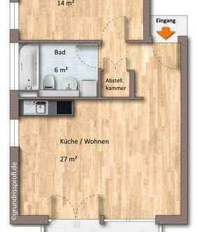 Zweitbezug! 2-ZKBB-Neubau-Wohnung mit Parkett & Balkon!