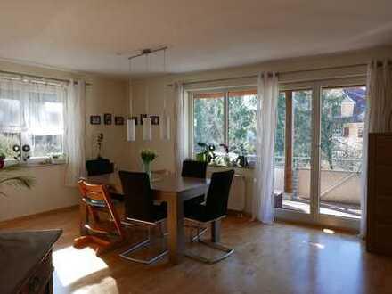 Sehr schöne 4-Zimmer-Maisonette-Wohnung für Gartenliebhaber in Esslingen Mettingen