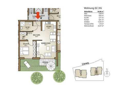 behagliches Apartment im EG