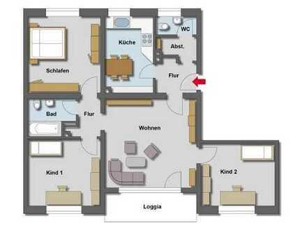 +++ 4 Raum Wohnung in ruhiger Lage +++