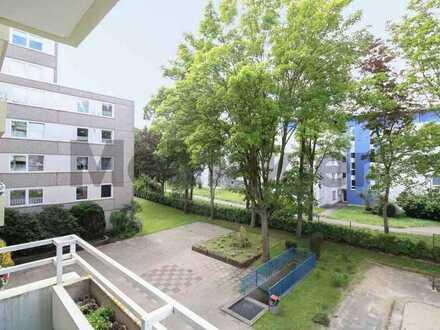 Gut geschnittene 1-Zimmer-Wohnung mit Balkon in zentrumsnaher Lage