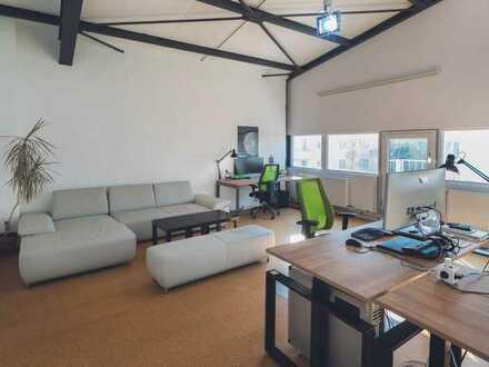 PROVISIONSFREIE Büroflächen im industrial Design und Lager in TOP Lage (separat) zu vermieten!