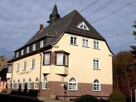 Markantes Gebäude in der Stadt Lichtenstein