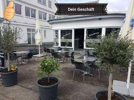 Imbiss / Bistro / Café / Diner mit Terrasse