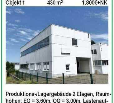 Verkehrgünstig gelegenes Produktions-/Lagergebäude im Gewerbegebiet Do-Dorstfeld