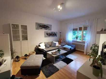 Vollständig renovierte 2-Zimmer-Hochparterre-Wohnung mit grosser Südterrasse in LU-Gartenstadt