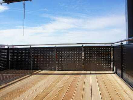 ... moderne 3-Zi.-Dachgeschoss-Wohnung mit 12m² West-Balkon im begehrten Mühldorfer Norden ...
