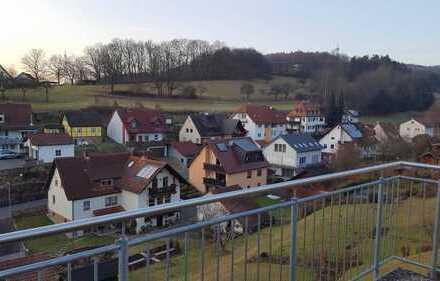 4-Zimmer-Wohnung mit großer Terrasse in Partenstein