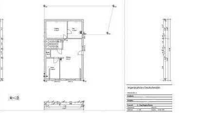3-4-Zimmer-Dachgeschosswohnung mit 2 Balkone und EBK in Hösbach