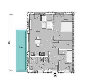 W01 Barrierearme 3-Zimmer Wohnung