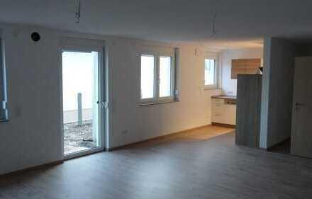 Neuwertige 2,5-Zimmer-Wohnung mit Balkon und Einbauküche in Achstetten