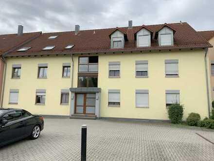 Freie, optimal geschnittene 2-Zi.-Wohnung mit Balkon u. TG-Stellplatz in begehrter Lage von Neumarkt