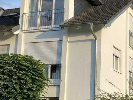Sonniger Balkon und viel Platz in dieser Dachgeschoss-Wohnung
