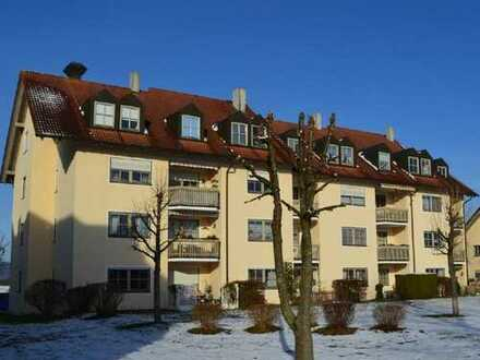 Ansprechende, gepflegte 2-Zimmer-Dachgeschosswohnung zur Miete in Töging