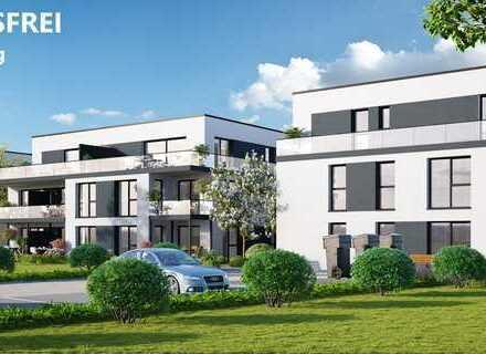 Wohnen nah am schönen Salinensee, 3 Zimmer Terrassen Wohnung