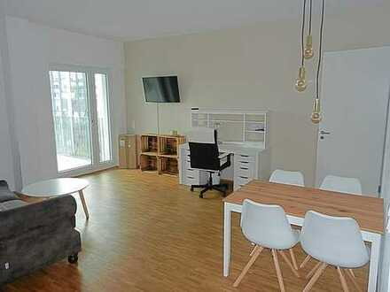 reizvolle 3-Zimmer-Wohnung mit Einbauküche, Fußbodenheizung und Echtholzparkettboden