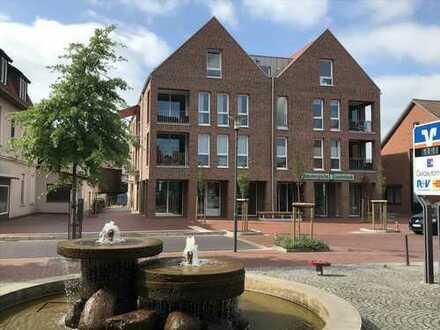 2-Zimmerwohnung mit Loggia im 1. OG eines Wohn- und Geschäftshauses im Herzen von Visbek