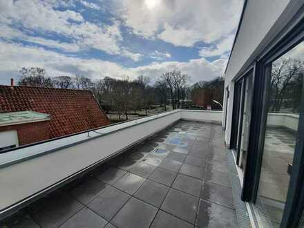 ZENTRALE 2-Zimmer Neubauwohnung mit Dachterrasse