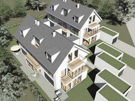 Neubau eines modernen Stadthauses in München-Aubing S4