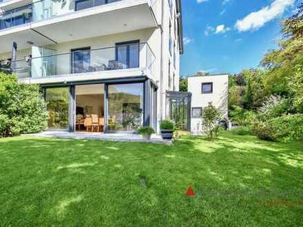 Eine Wohnung der Extraklasse - neuwertig, luxuriös, überwältigend.