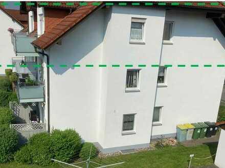 Gepflegte 2-Zimmer-DG-Wohnung mit Balkon in Unterlauter