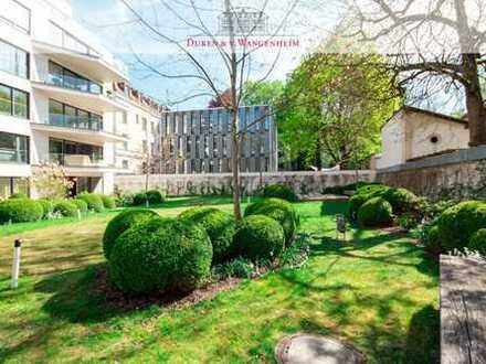 4-Zimmer-Wohnung direkt am Englischen Garten. Elegant.Lichtdurchflutet.Familienfreundlich.