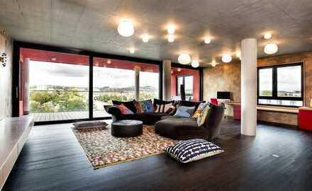 Unvergleichlich wohnen: 150 qm Design, Stil & Luxus im Lahntower Gießen