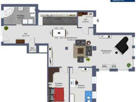 Stilvolle 4-Zimmer-Wohnung mit großem Garten - demnächst fertiggestellt!