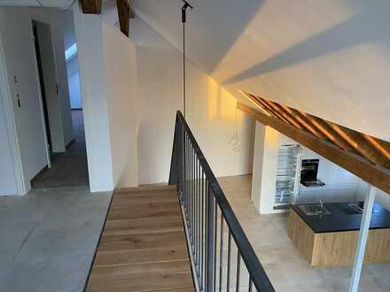 Offenes wohnen in sanierter Scheune, Effizienz A+ , 157 qm + Balkon, Neu, Aufzug, uvm