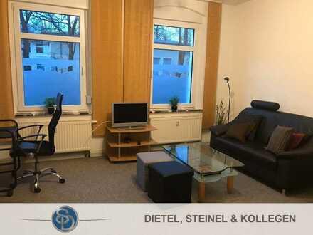 2-Zimmer-Wohnung im Erdgeschoss- vollmöbliert - in zentrumsnaher Lage - Altstadt von Hof fußläuf